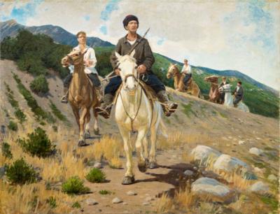 Партизаны в горах