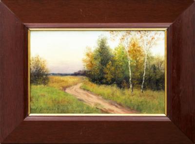 Найден Осенний пейзаж