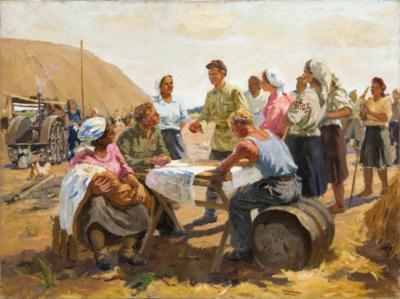 Петров Ю.Д. В колхозе