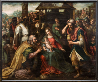Поклонение волхвов Мартен де Вос