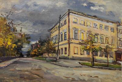 Радимова Городская улочка