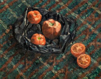 Рубенштейн Д И Натюрморт с помидорами