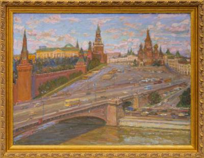 Соловых Москворецкий мост. Балчуг