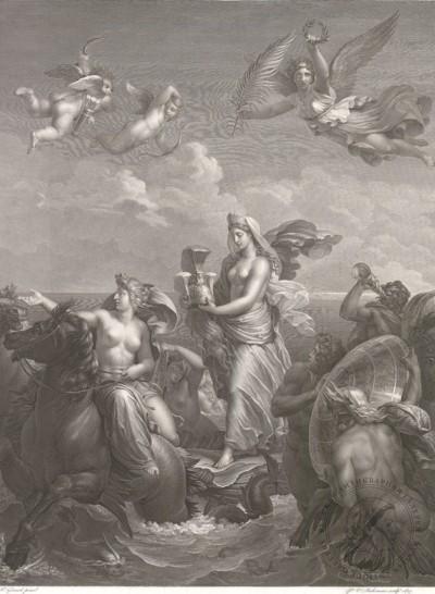 Théodore Richomme Фетида, несущая доспехи Ахилла