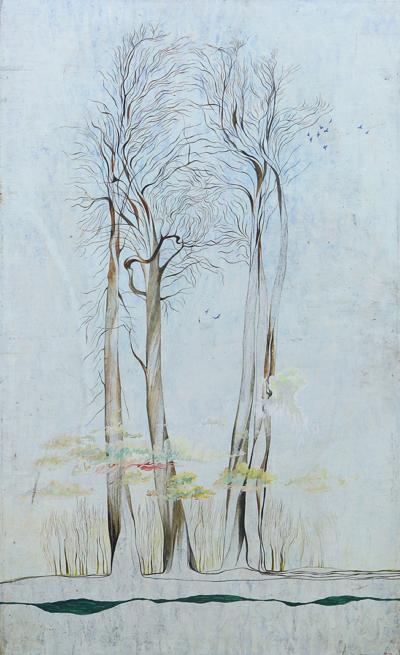 Картина Тополя художник Миронов