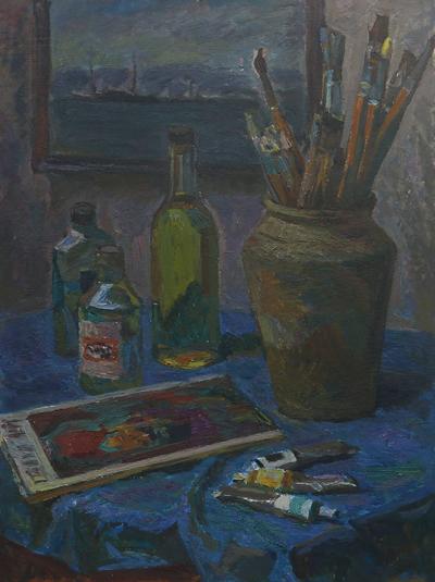 В мастерской художника