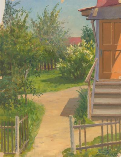 Вольтер Дачный дворик в Купавне