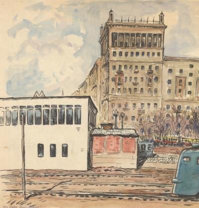 Знамеровский Станция Кутузовская