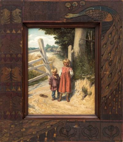 Богатов Дети у плетня