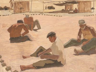 картина Ремонт сетей художник Шепелев