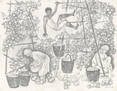 Под яблоней Кочетова